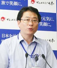 外務省の山花郁夫大臣政務官