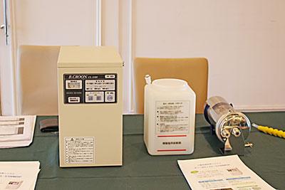 三浦電子の「ビーコロン水(電解次亜水)」は、食品添加物に認められ、厨房全体の衛生管理に利用可能