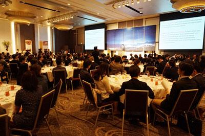 別府東京事務所開所レセプションは盛大に行われた