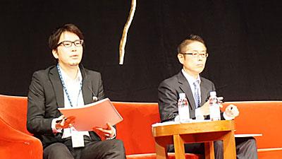 (左から)西田裕志氏、宮本賢一郎氏