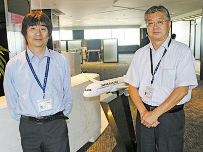 永瀬グループ長(左)、石井マネージャー