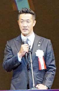桑田雅之部長が開会のあいさつ