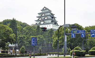 VR化された江戸城