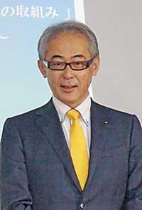 西川丈次氏が講演