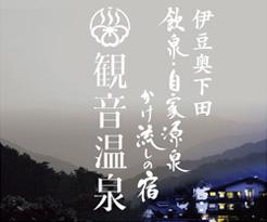 【公式】観音温泉 | 静岡県伊豆奥下田 飲泉・自家源泉かけ流しの秘湯
