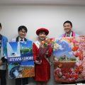 左から山下さん、高柳さん、中島さん、山本さん、池田さん